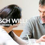 "Plakat ""Mensch Willi"""